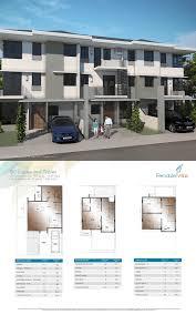 triplex house plans alveo land quezon city townhouse for sale ferndale villas