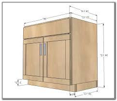 Standard Kitchen Base Cabinet Sizes Kitchen Sink Cabinet Dimensions Stunning Standard Kitchen Cabinet