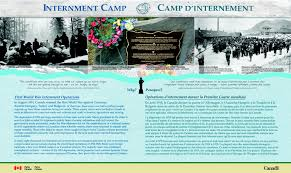 Banff National Park Map Internment Camp Bow Valley Parkway Interactive Maps Friends