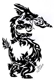 asian dragon tattoo design by exsuicune on deviantart