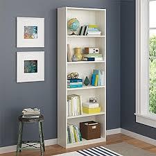 altra 5 shelf bookcase white 9425015pcom staples