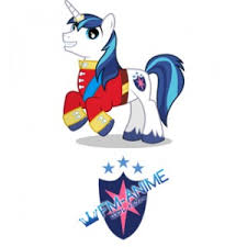 my little pony shining armor cutie mark cosplay tattoo stickers