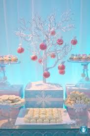 Penguin Baby Shower Decorations Winter Birthday Party Ideas For Girls Winter Wonderland