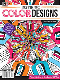 color designs inspiring color designs december 2016 kappa publishing adult