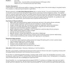 sle resume objective inside sales resume objective professional sle entry level