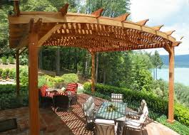 Span Tables For Pergolas by Why Redwood Is The Best Option For Your Wood Pergola