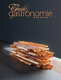 magazine de cuisine 49 best couverture thuries gastronomie magazine 5 images on