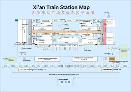 Xi An China Map by Xi U0027an Train Schedule Xi U0027an Train Station Timetable