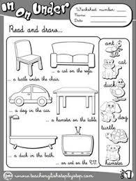 place prepositions worksheet 3 b u0026w version elt pinterest