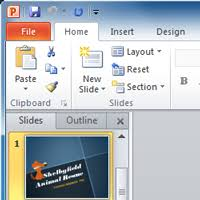introduction to powerpoint powerpoint 2010 getting started with powerpoint full page