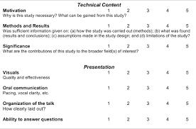 design criteria questions presentation evaluation criteria mechanical and aerospace engineering