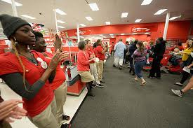 black friday at target dadeland south in miami photos and images