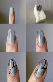 easy step by step marble nails art tutorials for beginners 2017