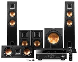 yamaha home theater system yamaha rx v581 home theatre package with klipsch speakers