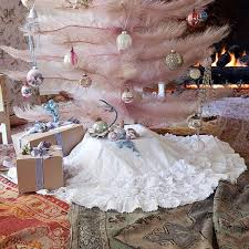 Shabby Chic Christmas Tree by Pastel Blonde Shabby Chic Christmas Dreaming Of A Pink