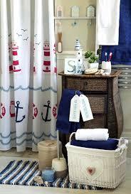 favorable curtains lighthouse bathroom accessories ideas as ouse nautical bath accessories ideas with rattan regarding nautical bathroom decor ideas about