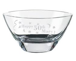 personalized bowl glass personalized gifts bowls