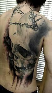 Best Back Tattoos For Guys Skull Tattoos Best Tattoos Designs And Ideas