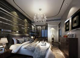 creative bed back wall 3d house