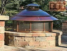 Firepit Cover New Screen Cover For Pit Metal Dome Conical Pit Ring
