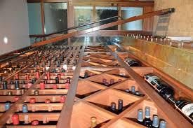 wine cellar table custom wine cellars la jolla contemporary design san diego