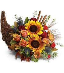 cornucopia decorations put the finishing touches on your thanksgiving décor with a