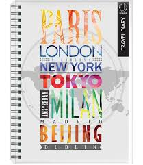 travel diary images 4239 travel diary a5 wire o clear pvc jacket 1 design jpg