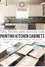 How To Make Kitchen Cabinets by Best 20 Painting Kitchen Cabinets Ideas On Pinterest Painting