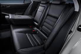 lexus gs rear seat fold 2015 lexus is tweaked gains siri integration