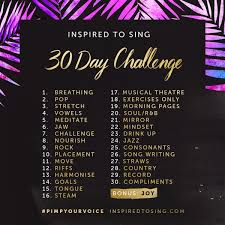 Challenge Breathing 30 Day Challenge For Singers By Inspired To Sing 3