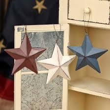 Barn Star Kitchen Decor by Primitive Metal Barn Star Ornament Signs U0026 Ornaments Home Decor
