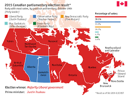 National Election Results Map by 5 Things To Know About Canada U0027s Economy World Economic Forum