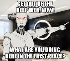 Web Meme - deep web imgflip