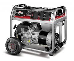briggs u0026 stratton 5000 watt portable generator 30467 norwall