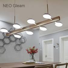lustre pour cuisine neo lueur moderne led lustre cuisine salon dinging chambre