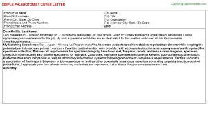 phlebotomist cover letter professional phlebotomist cover letter