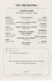 ann arbor civic theatre program bells are ringing june 12 1985