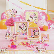 minnie mouse theme party inspiring birthday party decorations unique interior design minnie