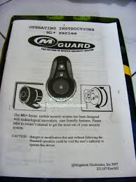 review alarm mguard m1