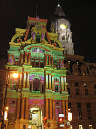 christmas lights in south jersey city hall in philadelphia at christmastime thoughts to live by
