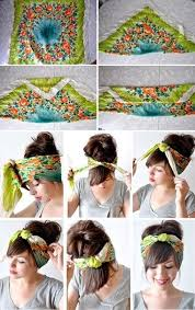 80s hair styles with scarves hair scarves loving this look my hair us lovibg scarves and so