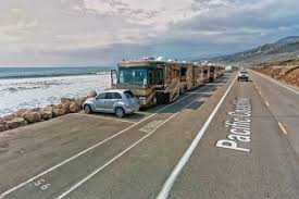 Carpinteria State Beach Campground Map by Camping By The Sea At Rincon Parkway Ventura California