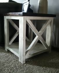 furniture charming rustic coffee and end tables designs teak
