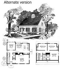 cape cod cottage house plans plan 81045w expandable cape with two options narrow lot house