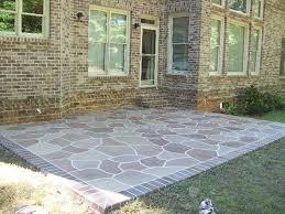 Repair Concrete Patio Cracks Gorgeous Resurface Concrete Patio Ideas How To Repair A Cracked