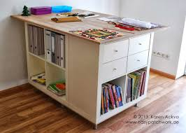 Ikea Shelf Hacks Expedit Hack Looks Like 3 Expedits Kallax Now With A Top And