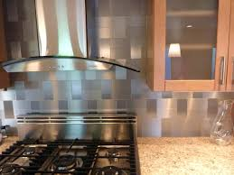 Subway Tiles Backsplash Kitchen Metallic Subway Tile Backsplash Kitchen Stainless Steel Wall Tiles