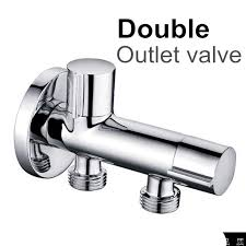 Bathroom Accessories Stores Kitchen Bathroom Accessories Double Outlet Angle Valve For Shower
