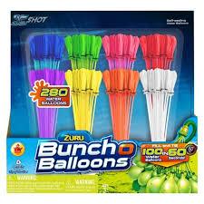water balloons zuru 8 pack bunch o balloons block party target