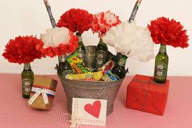 valentines ideas for men diy gift ideas for him the bouquet petal talk